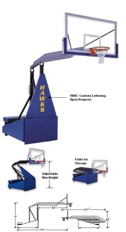 Hoops Basketball Goals Sales Amp Installation Inground